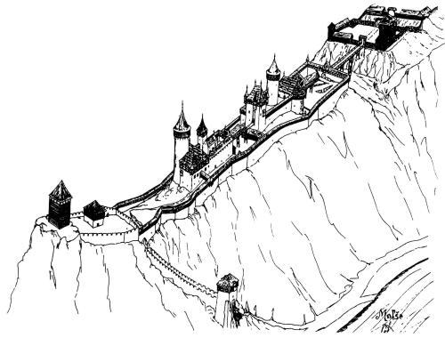 Jedna z podob hradu Velešín